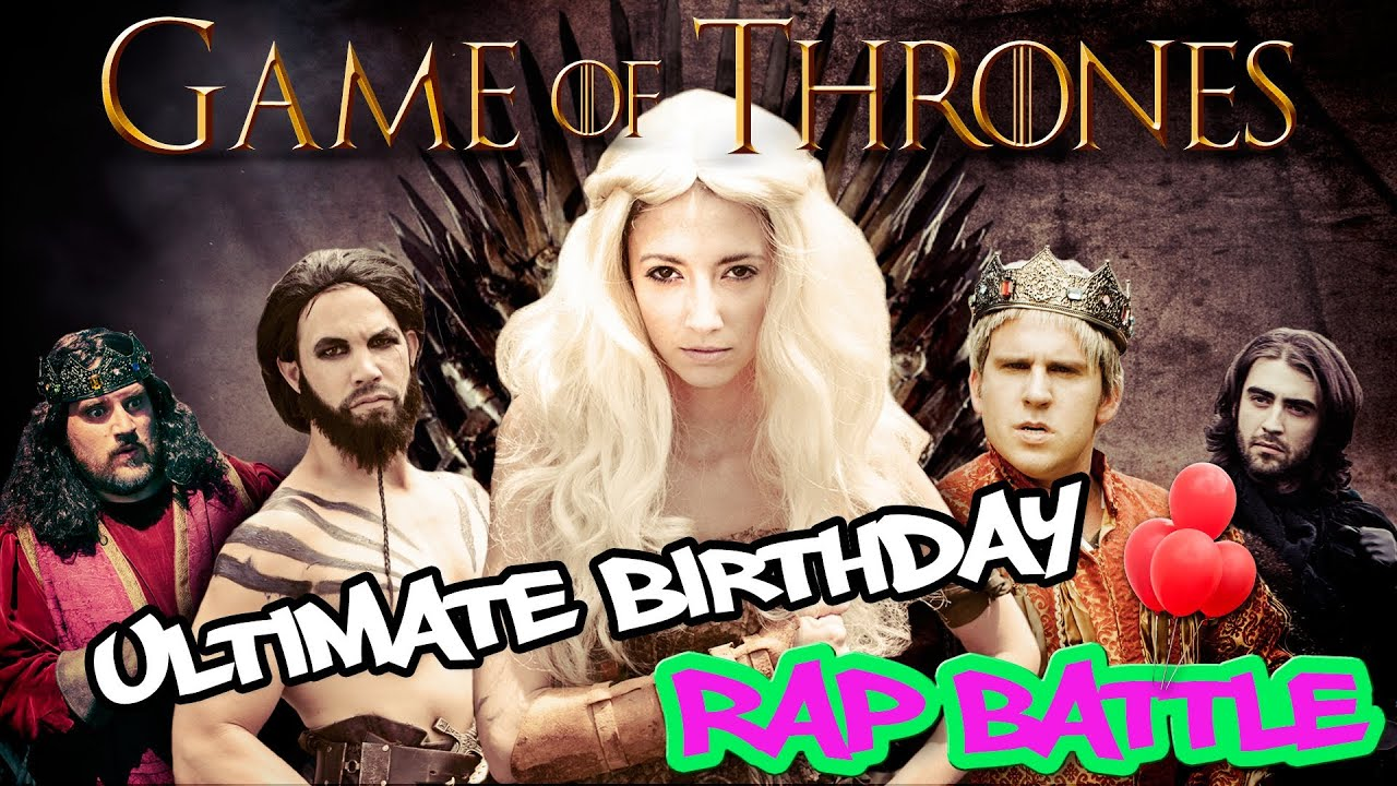"""""""Game of Thrones"""" Ultimate Birthday Rap Battle (Featuring Taryn Southern)"""