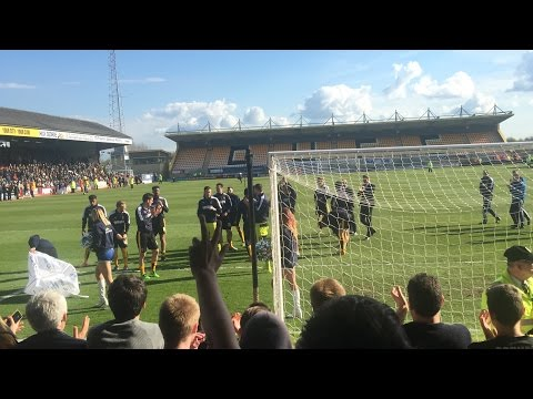 Match Of The Day Cambridge United V Plymouth Argyle 2015/16