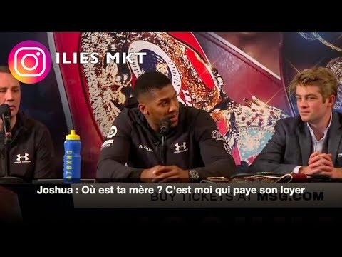 JOSHUA VS MILLER : LA CONFERENCE DE PRESSE HARDCORE EN FRANCAIS !!!