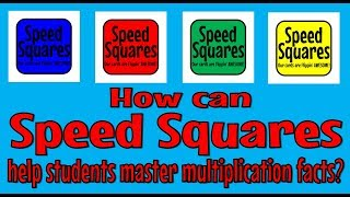 How can Speed Squares help my students master multiplication facts?