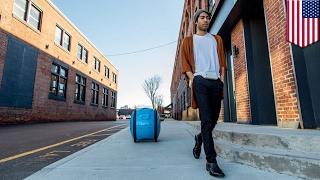 شاهد: إطلاق حقيبة آلية شبيهة بالسيارات تتبعك في أي مكان