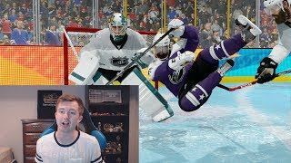 NHL 18 - THIS IS RIDICULOUS! (THREES w/ MAX SLIDERS)