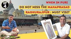 Jagannath Puri Mahaprasad  Odisha, EP 4   Puri food Tour    Raghurajpur Art Village