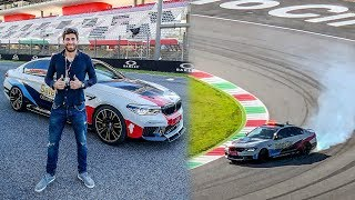 SAFETY CAR DRIFT AT MUGELLO FOR THE MOTOGP - Tissot Experience