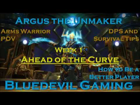 Heroic Argus Ravager Arms warrior DPS Guide