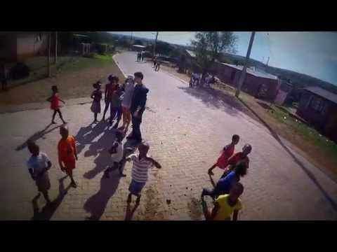 Drone Footage of South African kids playing in Ikageng Township!