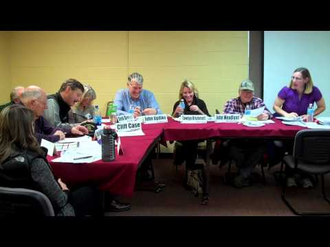MCH Board Meeting 10/29/2013 clip 02 of 02 Mineral County Montana Community Hospital Governing Board