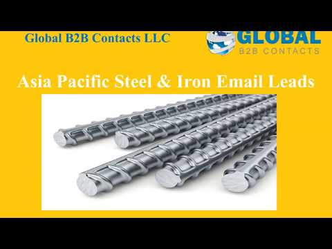 Asia Pacific Steel & Iron Email Leads