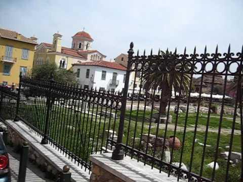 Ancient Athens bike ride: Thissio - Monastiraki