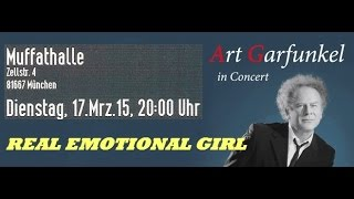Art Garfunkel - 12 - REAL EMOTIONAL GIRL - München Muffathalle 17.03.2015 [FULL CONCERT Audio]