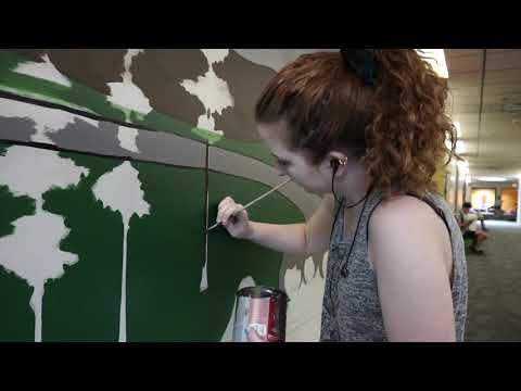 Mural shows diversity at Coconino Community College