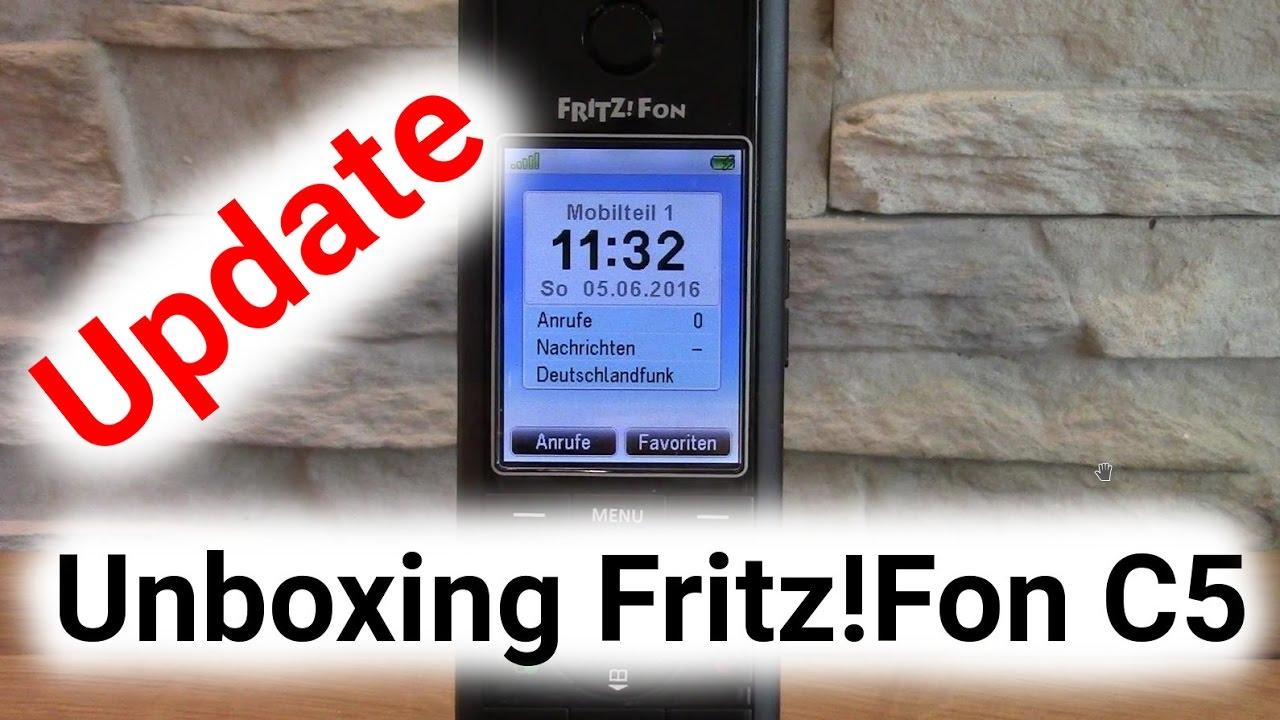 Fritz Fon C5 Update