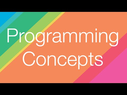 Intro to Programming: Concepts