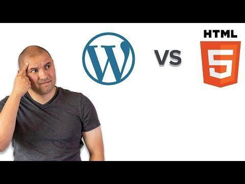 Wordpress Vs Handcoding