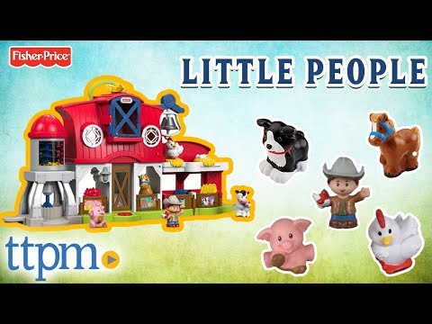 Caring for Animals Farm from Fisher-Price