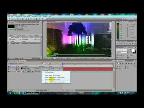 Adobe After Effects CS3 : Text tutorial