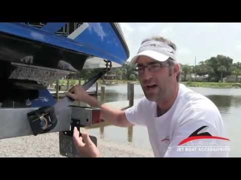 Yamaha Jet Boat Ratchet Tie Down Tutorial