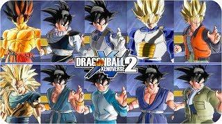 Goku 11 NEW Skins and Transformations  Pack - Dragon Ball Xenoverse 2 Mod