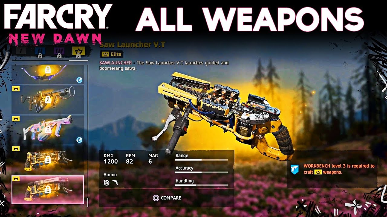 far cry new dawn elite weapons