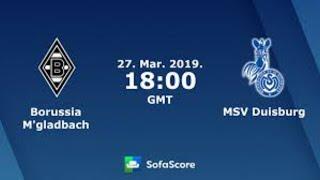 Borussia monchengladbach vs msv duisburg live
