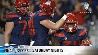 Highlights: Arizona football notches school rushing record in victory over Oregon State