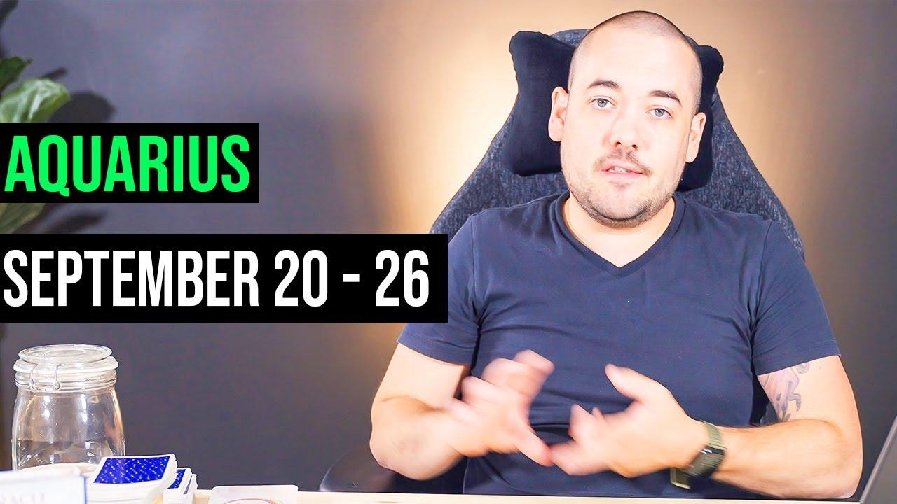 "Aquarius ""Glow Up Vibes!"" September 20th - 26th"