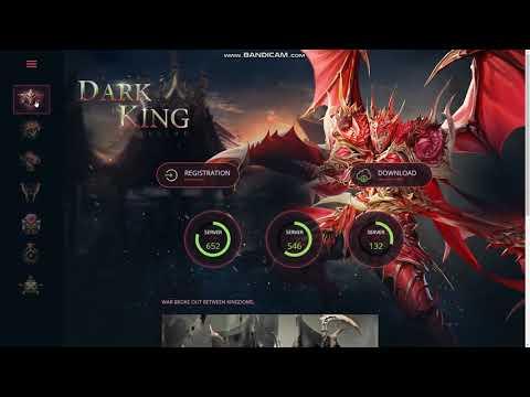 Mu Online Dark King Game Website HTML Template