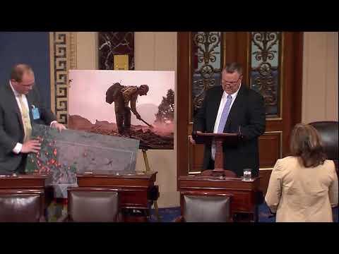 Tester Talks Wildfires on Senate Floor