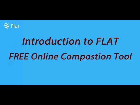 Write your Music with this FREE Online Composition Tool ! - FLAT