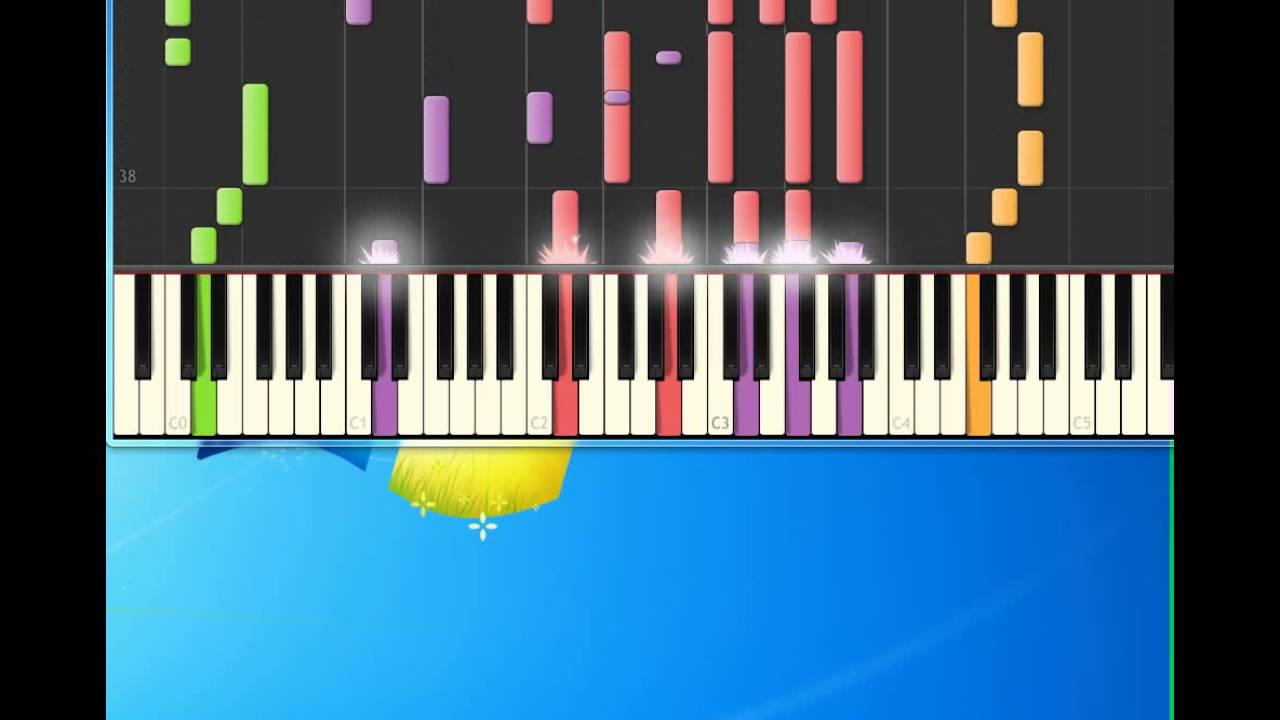 Fading like a flower [piano tutorial by synthesia] youtube.