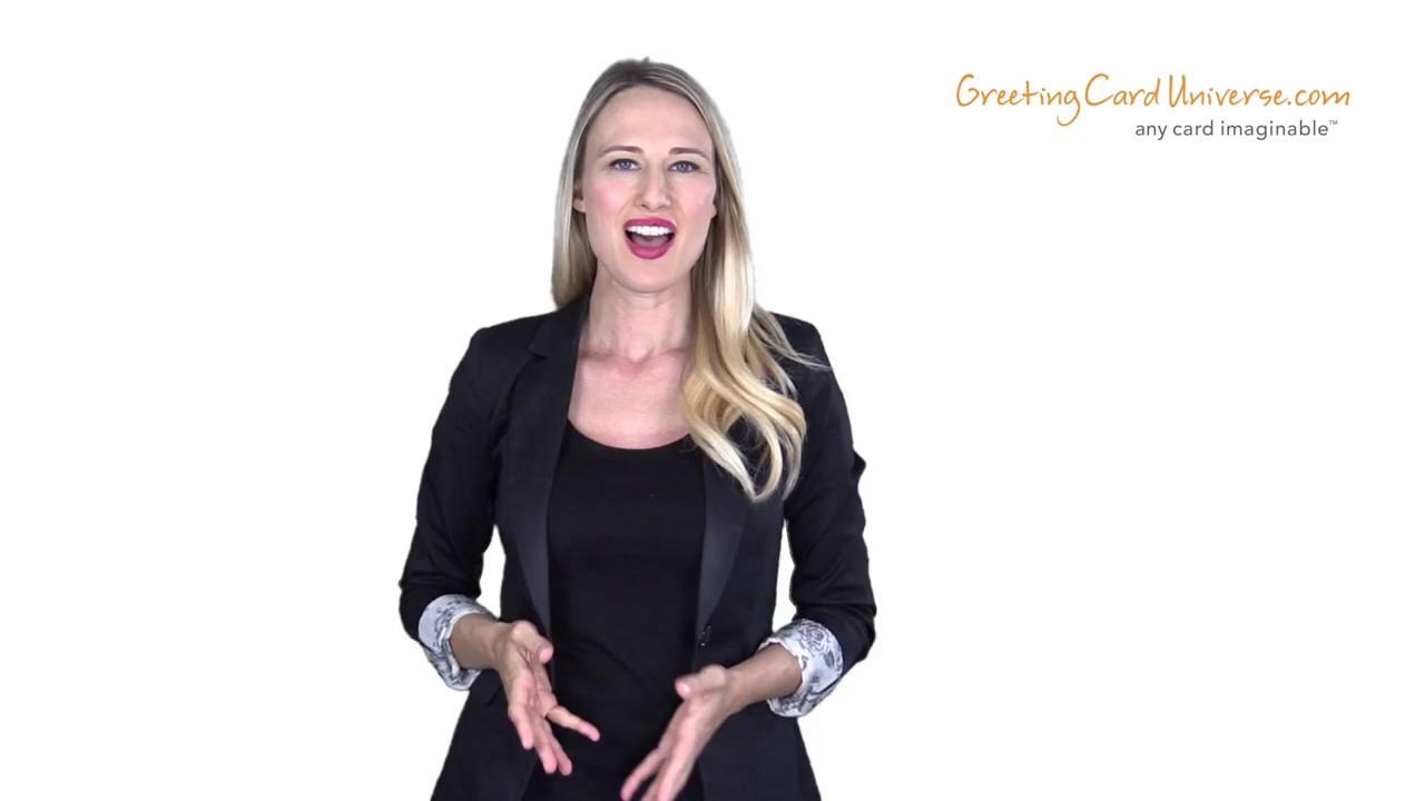 Greetingcarduniverse Introduction Spokesperson Youtube