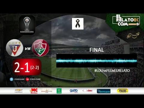EN VIVO | LDU de Quito vs Fluminense (formato radio propio)