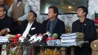 PTI  |Fawad Chaudhry | Imran khan | and | Murad Saeed | press conference,|