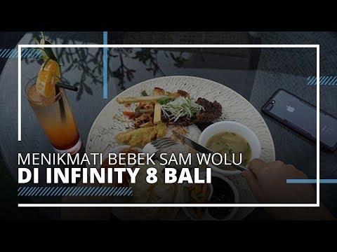 video-travel- -nikmati-bebek-sam-wolu-di-langit-bar-lounge-and-dining-infinity-8-bali