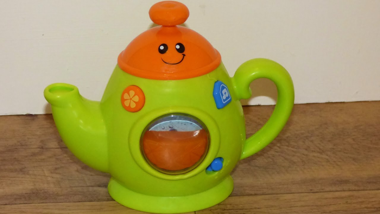 Musical teapot toy with melodies,nursery rhymes,sound effects