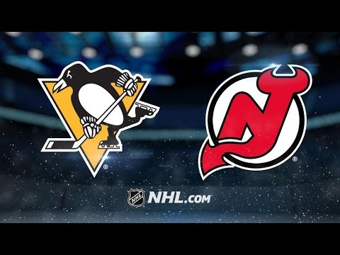 Pittsburgh Penguins Vs. New Jersey Devils | NHL Game Recap | April 6, 2017