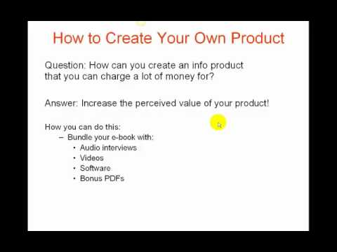 How to Create Your Own Information Product.mp4