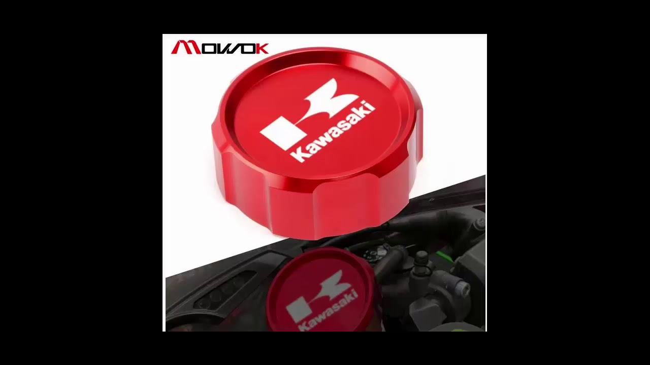 CNC high quality Master Cylinder Front Brake Fuel Reservoir Cover