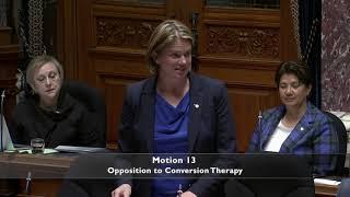 Jennifer Rice Speaks Against LGBTQ2SI Conversion