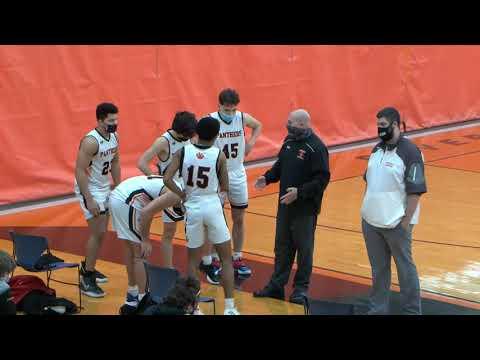 Lowell Catholic vs Beverly High School Boys  Basketball 2/20/21