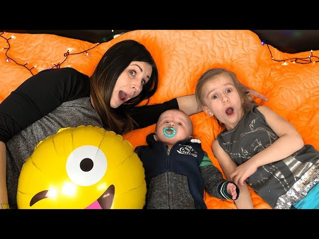 Funny Story about MOMMY and her KIDS with BALLOONS Video for Kids JoyJoy Lika