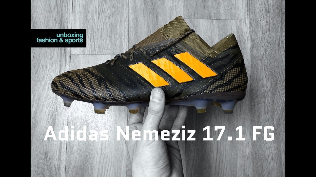 reputable site 767ba b3498 Adidas Nemeziz 17.1 FG  Lone Hunter Pack    UNBOXING   ON FEET   football  boots   2018   4K