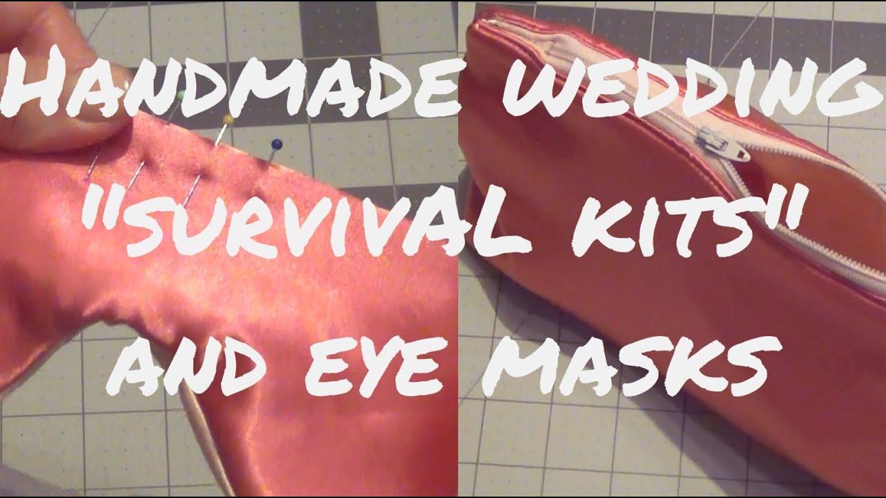 Handmade Makeup Bag \