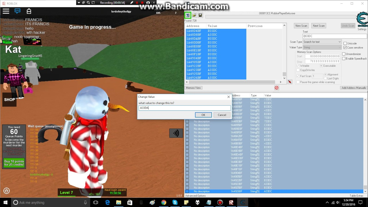 How To Hack Roblox With Cheat Engine | StrucidCodes.com