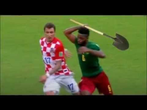 Alex Song's Red Card. Cameroon vs Croatia Fifa World Cup 2014