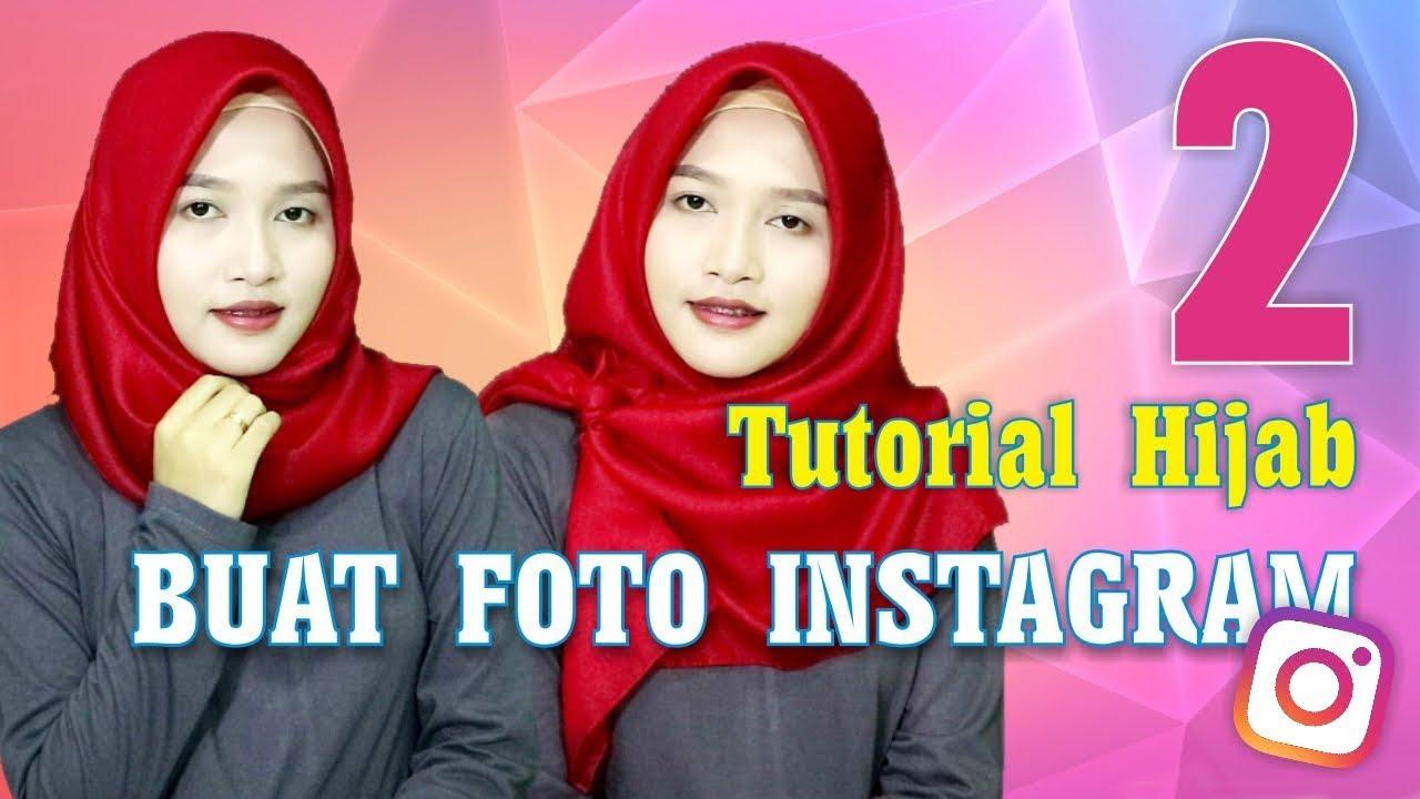 3 Tutorial Hijab Segiempat Saudia Simpel Ala Pegawai Bank Amalia Kurnia Youtube
