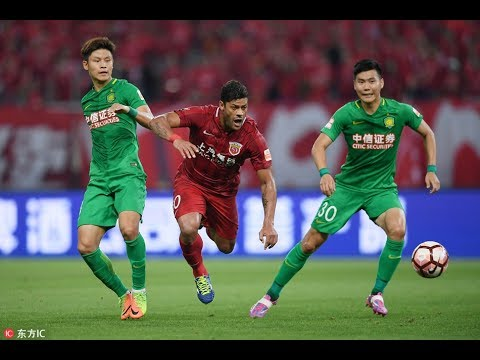 HIGHLIGHTS Shanghai SIPG vs Beijing Guoan 上海上港vs北京中赫国安 | CSL 2017 Round 11