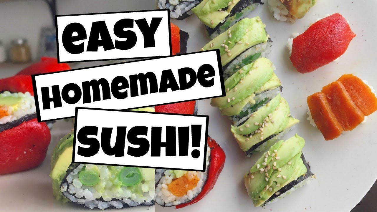 How to make sushi at home 2