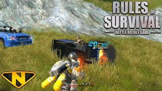 Epic Tuk Tuk Battle! (Rules of Survival: Battle Royale)
