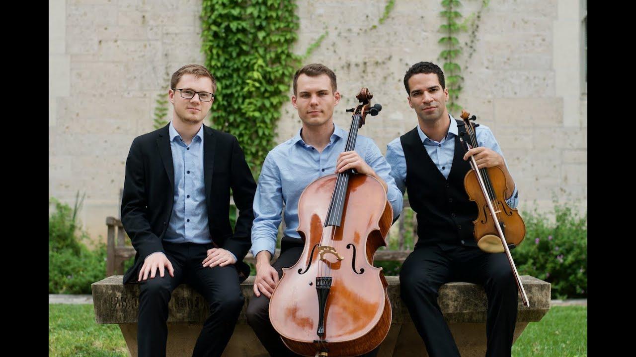 Wundertrio - Chausson: Piano Trio in G minor (Mvt. 1)